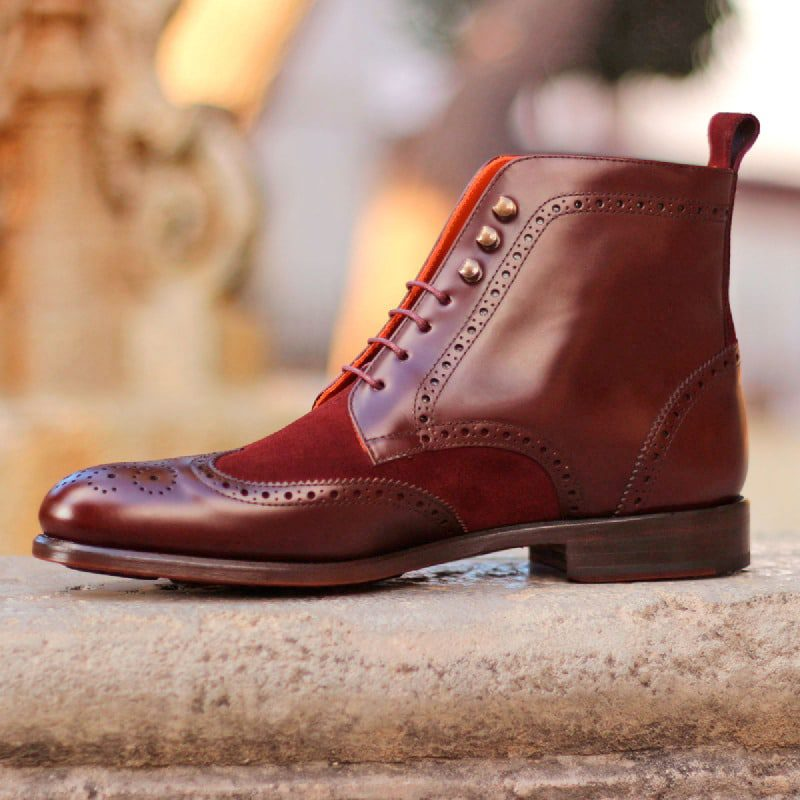 The Military Brogue Boot Model 1542