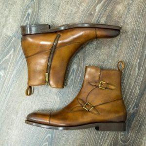 Custom made Octavian Buckle Boots
