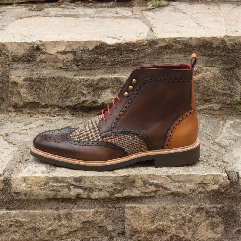 The Military Brogue Boot Model 2636