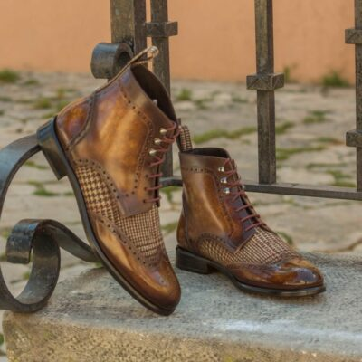 The Women's Military Brogue Boot Model 3402