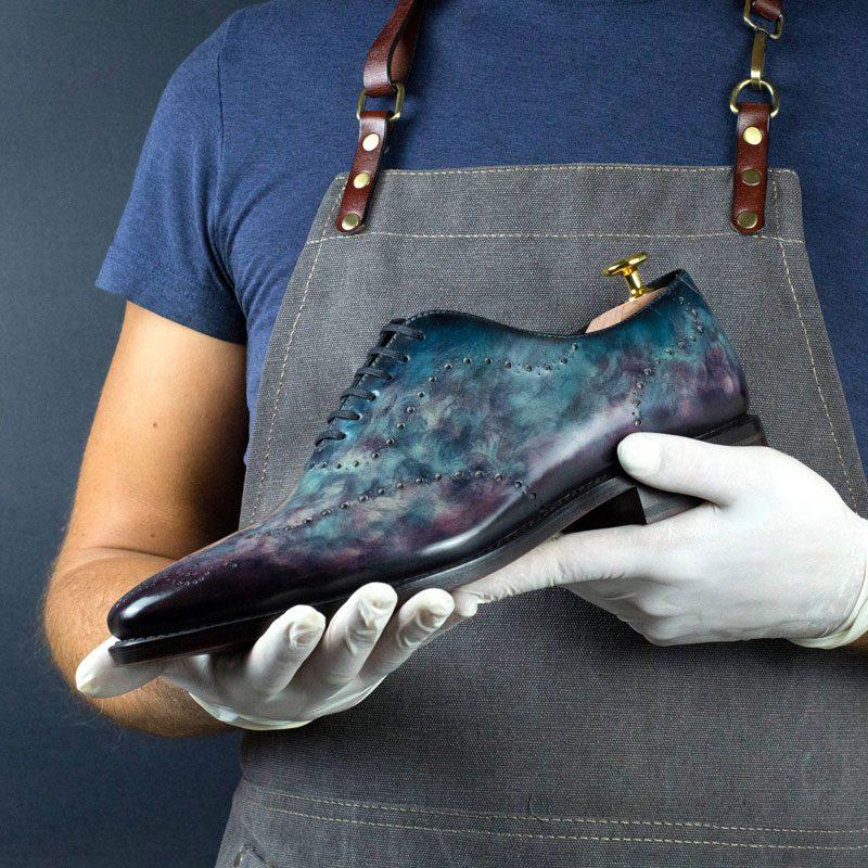 LIMITED EDITION Cygnus Cezzane Hand Patina Wholecut