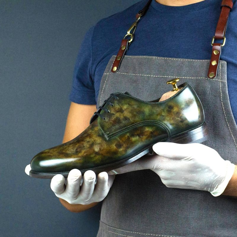 LIMITED EDITION Robin Cezzane Hand Patina Derby