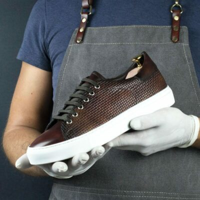 SPECIAL EDITION Cupsole Trainer with Fire Museum Hand Patina
