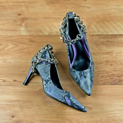 Custom Made Women's Florence High Heel in Lilac Cascabel